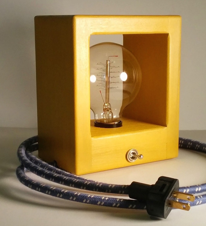 Simple Modern Lamps Handmade In Oregon A Lamp Design