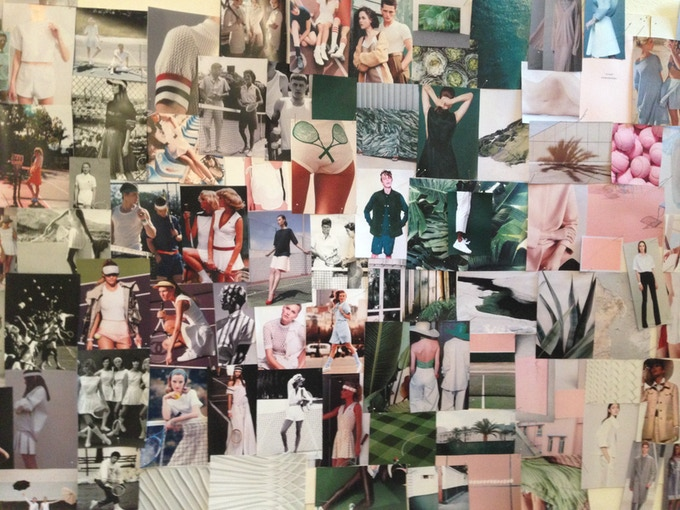 Moodboard inspiration for the scent