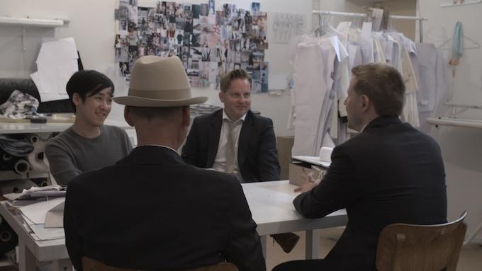 Briefing between designer, perfumer and us