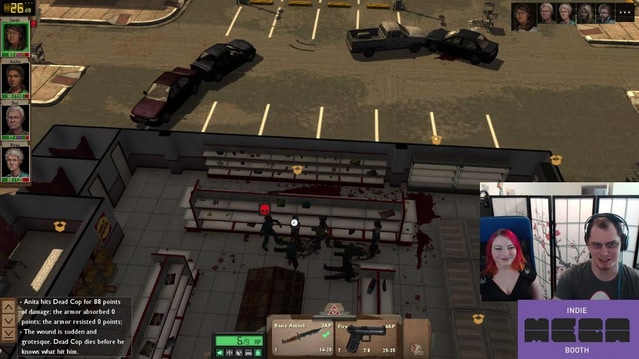 Jacob and Christina playing Dead State on Twitch