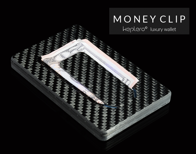 Money clip on the back.