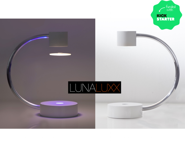 The levitating lamp that is first of its kind, Brilliant in design, Brilliant in technology.