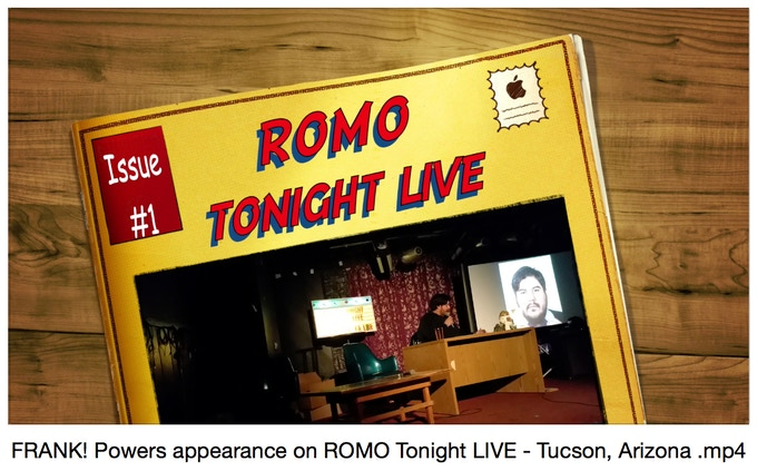 I was on the ROMO tonight LIVE talk show discussing EVERYTHING here!! WOW!