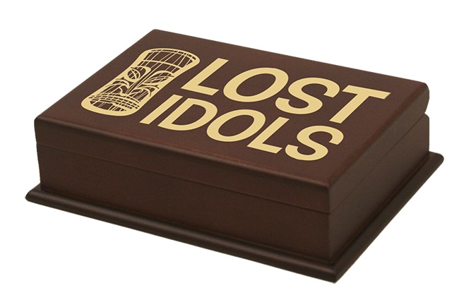 Limited Edition Mahogany Lost Idols Box