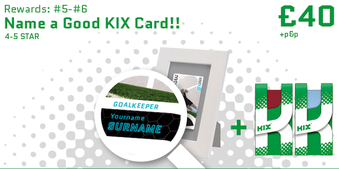 Name one of the good 4-5 stripe KIX cards