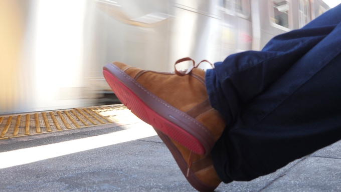 Delancey red sole. All Downtown shoes have red comfort sole, making your touch to the ground smoothly and beautifully