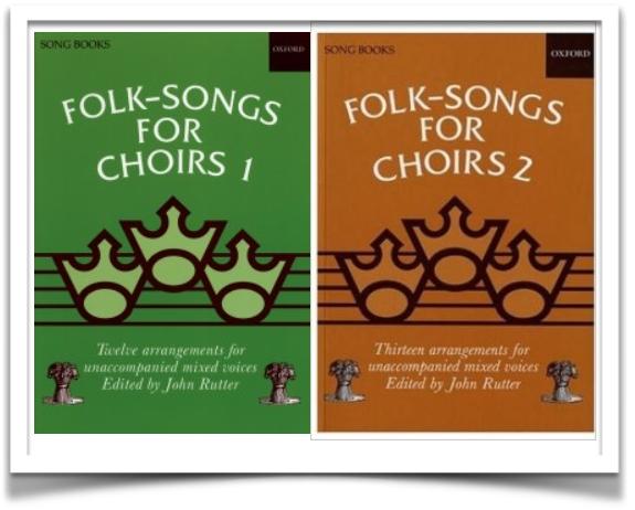 Oxford Folk Songs for Choirs Books 1&2