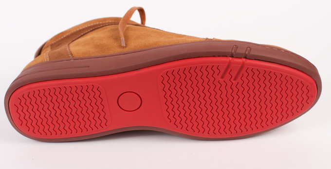 All Downtown Shoes have red comfort sole, which adds further style and smooth touch. You can wear Downtown for work and feel like you are wearing sports shoes