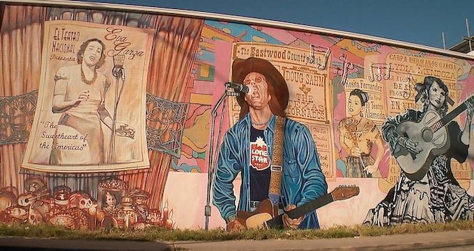 """La Música de San Anto"" mural"