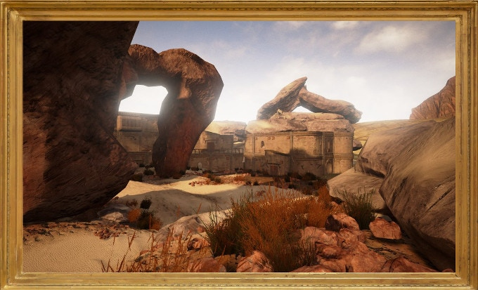 Actual 100% unedited INGAME screen from playable Unreal 4 slice. Attention: Unreal 4 version subject to stretch goal!
