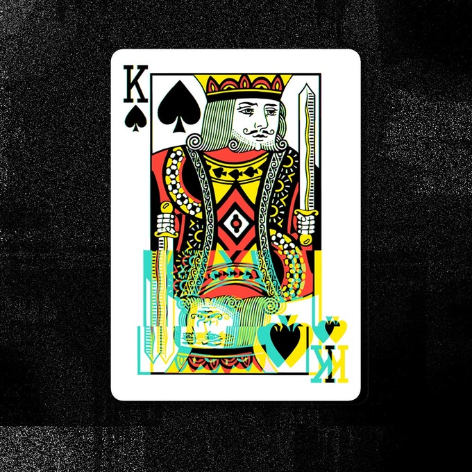 GLITCH 2.0 // Spades King