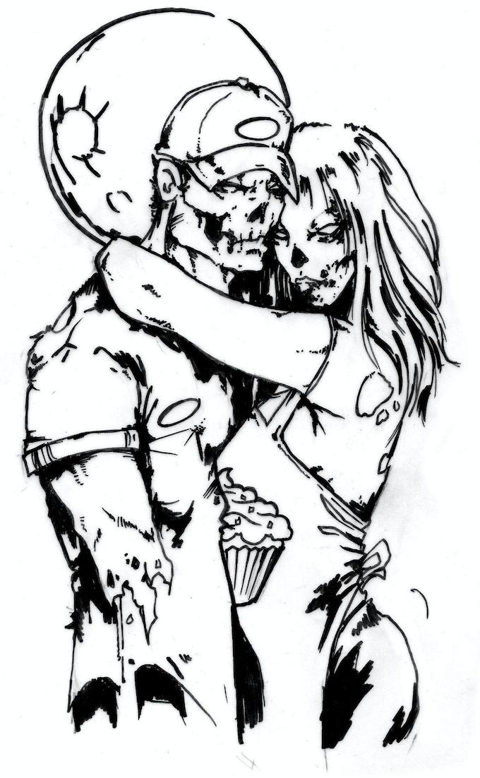 """illustration for """"Til Death Do Us Part"""""""