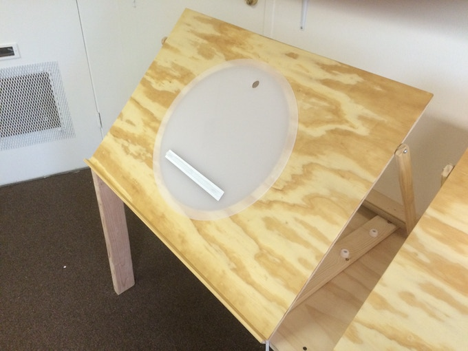 PROTOTYPE DESK WITH DISK