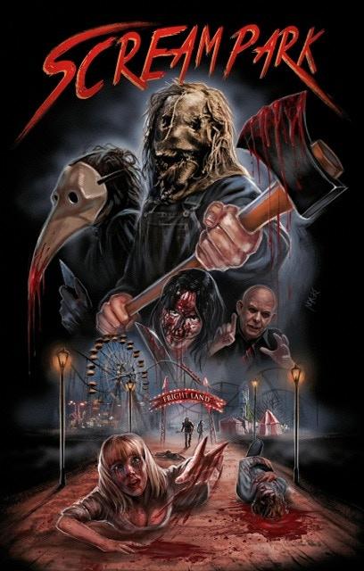 New Promo Artwork for Scream Park
