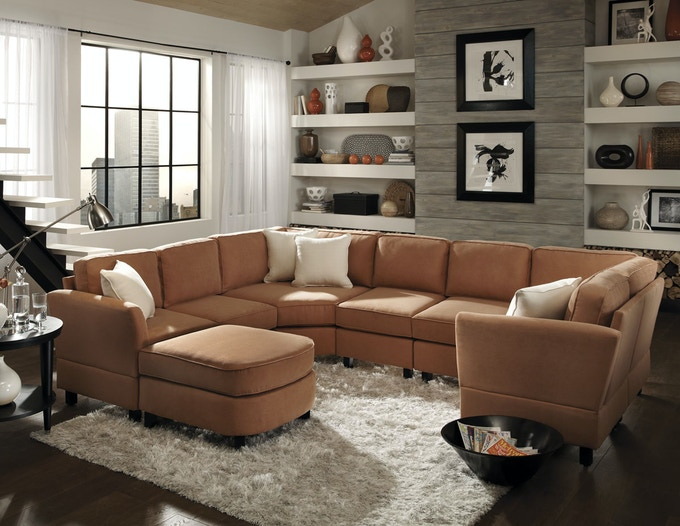 Simplicity Sofas Quick Assembly Sectional