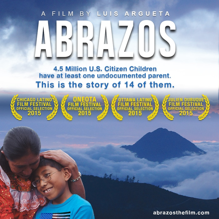 ABRAZOS tells the story of the transformational journey of a group of U.S. citizen children who travel 3,000 miles, from Minnesota to Guatemala, to meet their grandparents for the first time.