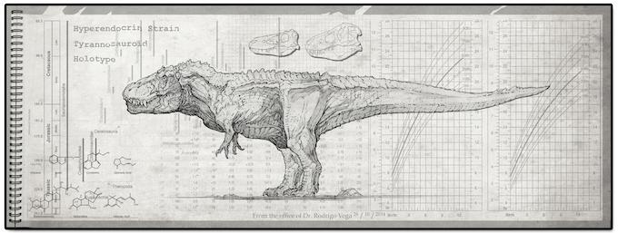 Tyrannosaur Hyperendocrin Strain
