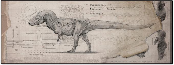 Tyrannosaur Neurotenic Strain