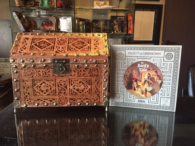Actual Handmade Reliquary Box