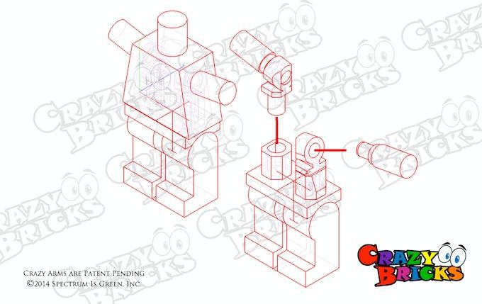 """Καινούργια """"χεράκια"""" από την CrazyBricks 4202c6e826825a4c618533c3ff202c4f_original"""