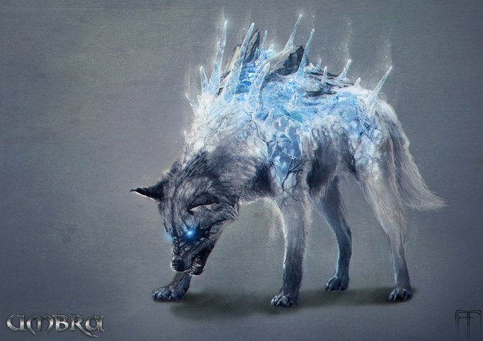 Frost Wolf - FREE Kickstarter Exclusive for Those at  Duke or Higher!