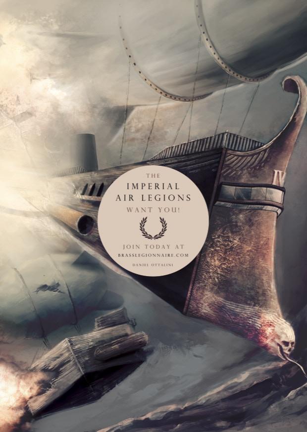 Promotional Poster for Brass Legionnaire