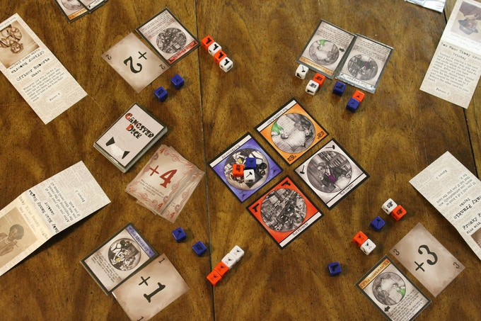 Print and play files are available on Board Game Geek!
