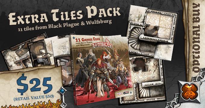 Zombicide Black Plague By Cmon Kickstarter