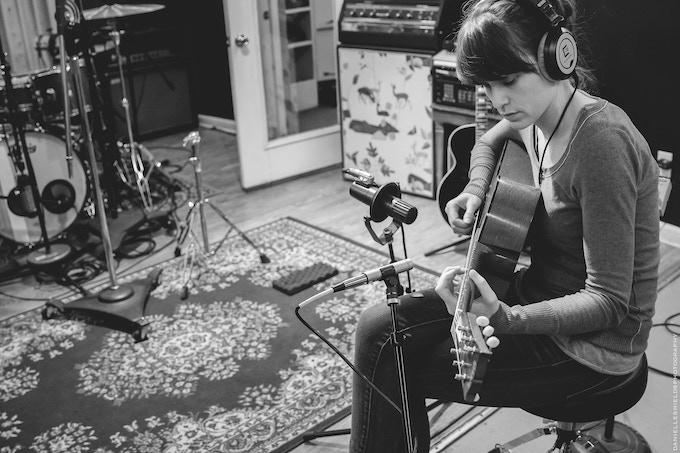 Sarah Saturday at Big Light Studio