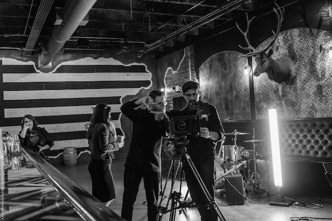 Filming Part One by Motke Dapp
