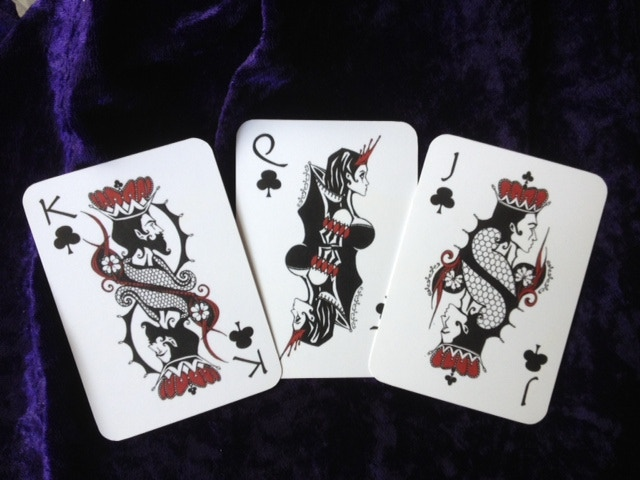 Club Face Cards