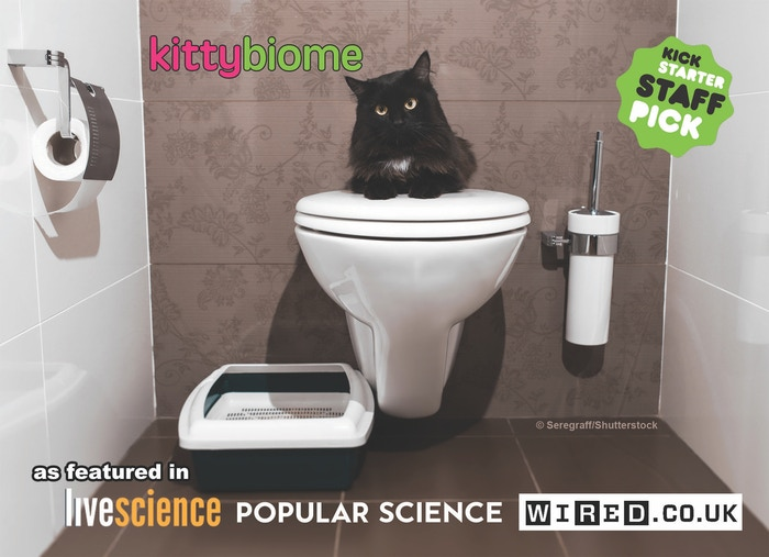 The first kitty-zen science project using the latest DNA sequencing technologies to explore the microbes that live in and on kitties.