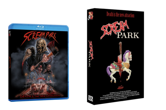 Limited Edition Blu-ray and VHS