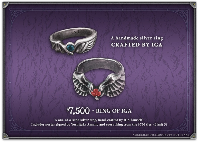 Ring of IGA