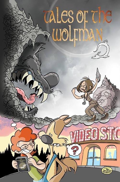 Limited Edition Variant Cover by Jay Fosgitt