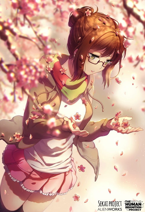 One of the prints we'll be selling at Anime Expo, by Rosuuri