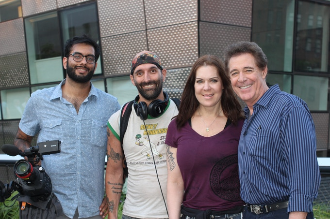 Chyna with Barry Williams in New York on June, 11 2015