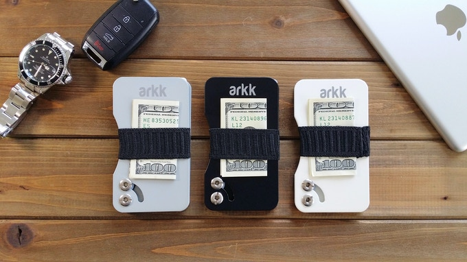 Arkk Wallet - The Sleekest RFID Blocking Minimalist Wallet