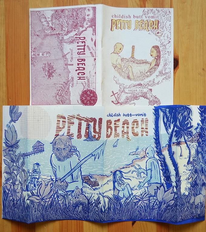 Sajan Rai's creator owned book Petty Beach.