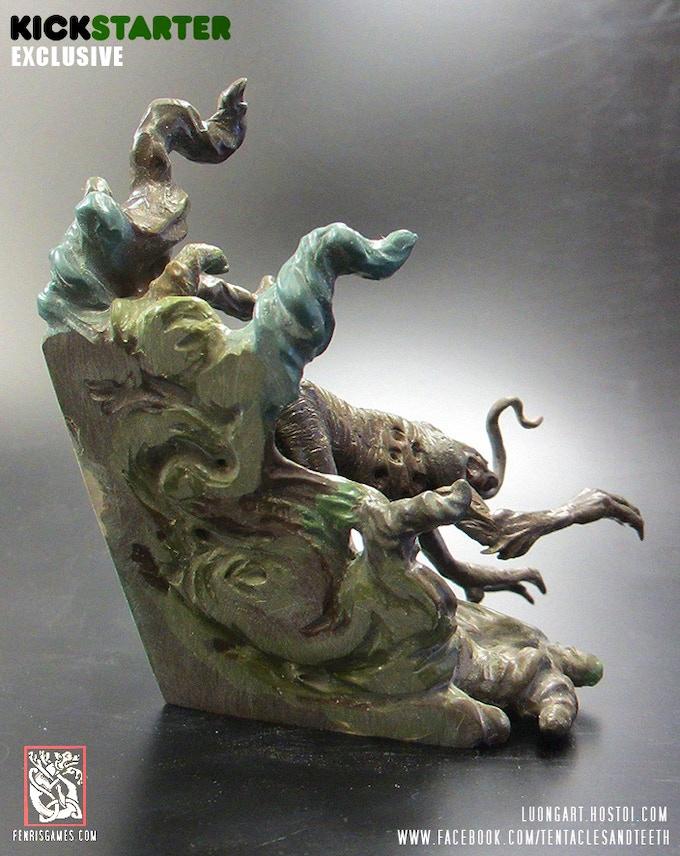 Hounds of Tindalos original sculpt - Rear View