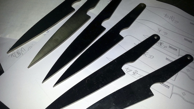 Blanks in the review process at the factory.