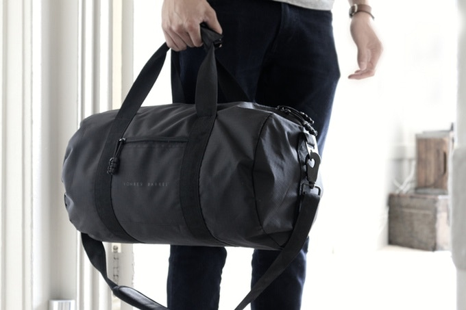 Bomber Barrel Duffle Bag
