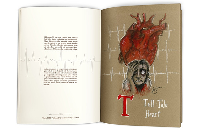 T is for Tell-Tale Heart