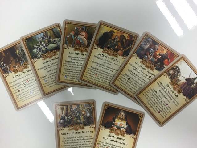 6 new C-Scenario-Cards for all new Endings!