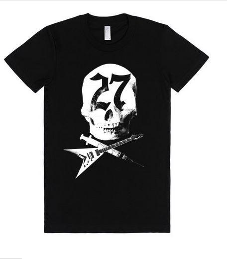 Babydoll style t-shirt, sizes XS to XXL