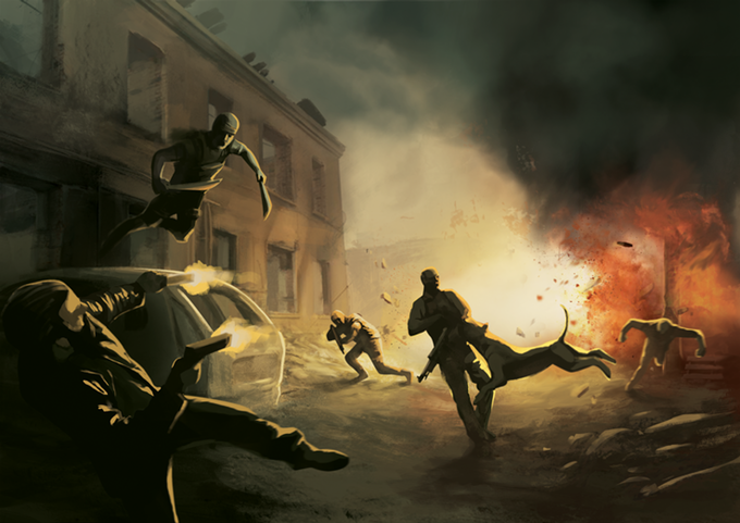 Some combat situations can turn into full blown, huge scale conflicts