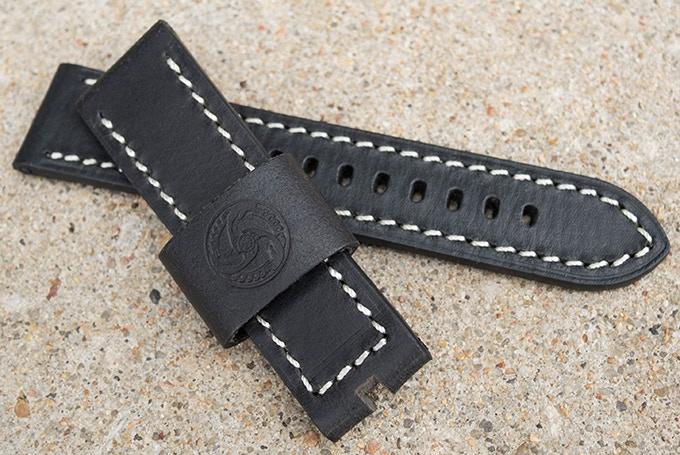 Stretch Goal - Black Leather Strap