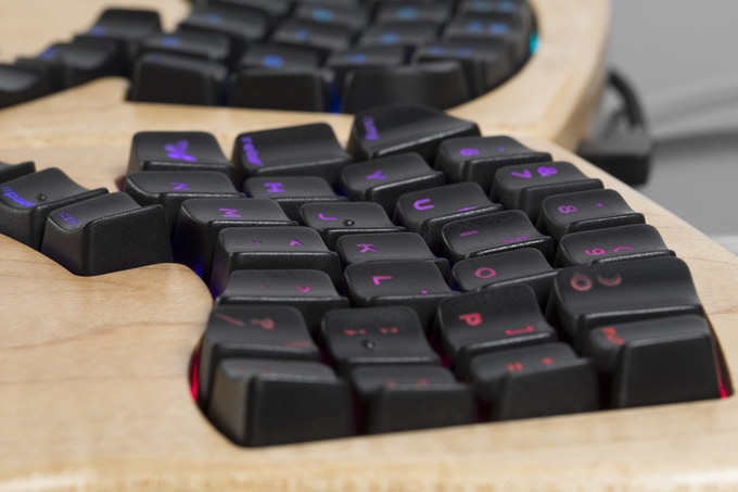We designed new keycaps to help you type