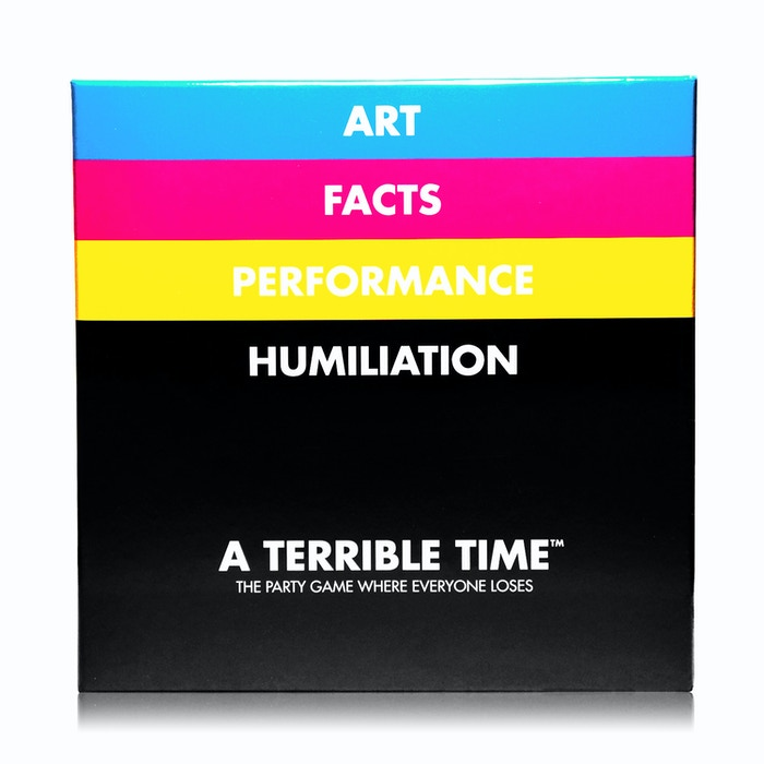 Art.  Facts.  Performance.  Humiliation.   A celebration of depravity.