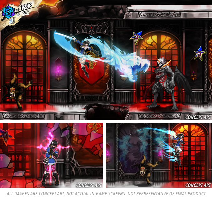 505 Games, ArtPlay, Bloodstained: Ritual of the Night